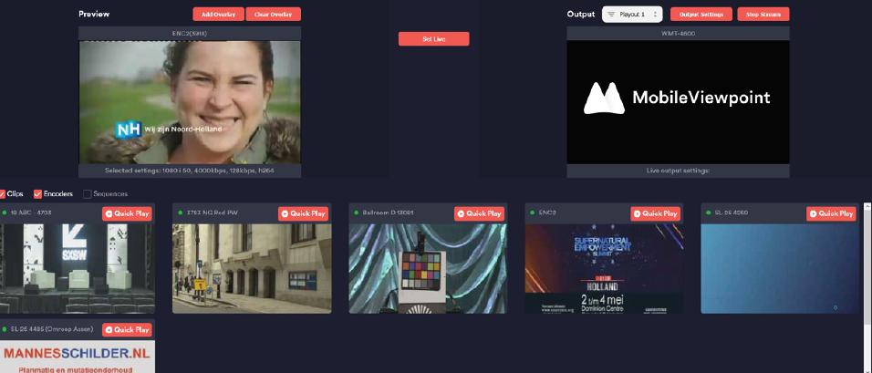 Linkmix playlist and edit platform