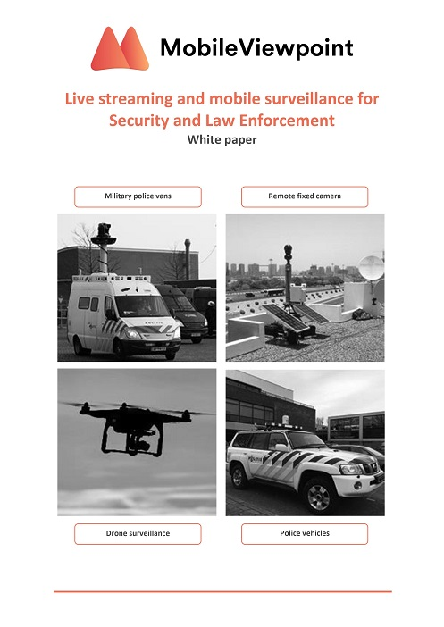 live streaming for police and law enforcement & public safety