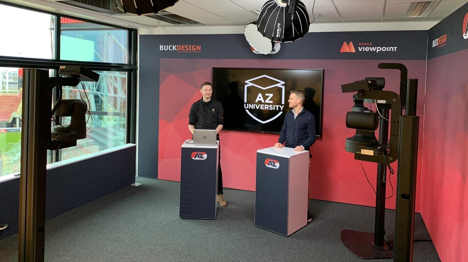 Top league Football club AZ chooses AI driven Camera Studio System